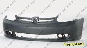 Bumper Front Without Spoiler Coupe/Sedan Toyota Echo 2003-2005