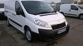 Peugeot Expert 1200 1.6 HDI 90 LWB H1 VAN DIESEL MANUAL WHITE (2013)