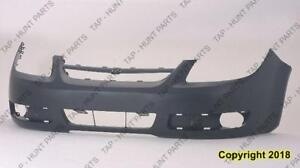 Bumper Front Without Fog Light Has Uprer Bar In Grille Chevrolet Cobalt 2005-2007