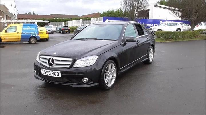 2009 mercedes benz c class mercedes benz c class c200 cdi sport 4dr diesel in west lothian. Black Bedroom Furniture Sets. Home Design Ideas