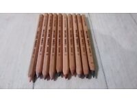 Chunky wooden colouring pencils (VGC, barely used)
