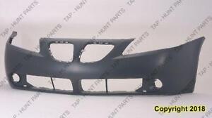 Bumper Front Primed Base-Gt-Value Model Capa PONTIAC G6 2005-2010