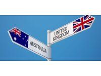 UK/Australia tie-in