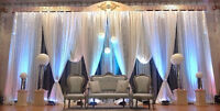 LAILA DECOR -Stage Decor /Backdrops/Flowers - Garlands-Gajras