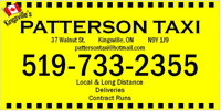 Kingsville Taxi Driver Wanted! **Afternoons/Nights/Weekends!**
