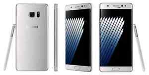 SAMSUNG GALAXY NOTE 7 ( UNLOCKED  ) SILVER EDITION