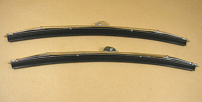 "1955 1958 Pontiac All Wiper Blade Hook Style Pair 12"" , C521141RP"