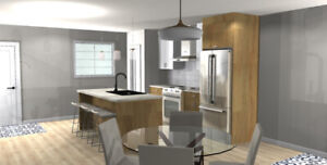Beautiful NEW 2 bdrm duplexes available January 1st!