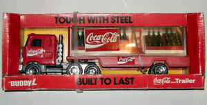 Collectible Coca Cola BUDDY L Truck &Trailer Never Opened 1989