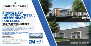 2 UNITS LEFT! Brand New Space For Lease in Oshawa