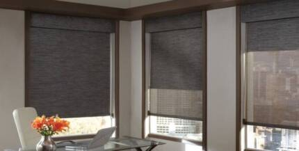 8 ROLLER CURTAINS BLINDS