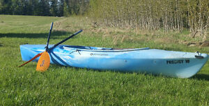 Kyak and quality light weight paddle