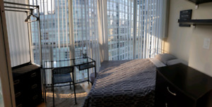 Furnished all-inclusive room in condo Wellesley & Yonge