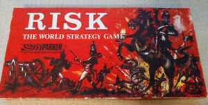 Risk board game - from 1959