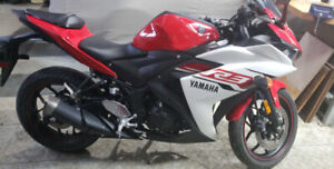 2015 Yamaha R3 mint condition