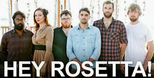 Hey Rosetta SOLD OUT tickets. TONIGHT. Friday night show!