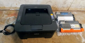 Brother laser printer wireless +full ink cartridges