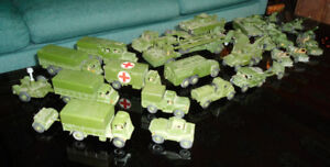 1950's Military Dinky Toys