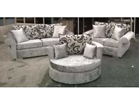 *** Top Quality New DQF (Crush Velvet) 3&2 Sets ONLY £499 ***