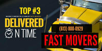 Fast Movers. $0 Travel Time Promotion