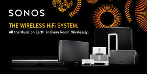 Sonos, Playbar, Play 1, Play 3, Play 5, Subwoofer, Wireless