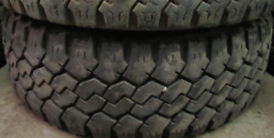 17 INCH TIRES. 2 OF THEM LT265-70-17