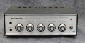 Amp PA Realistic MPA 20