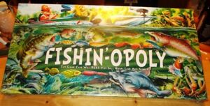 FISH - OPOLY  MONOPOLY  GAME  NEW  FACTORY  SEALED