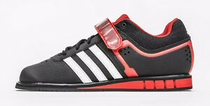 Adidas White/Red Weightlifting Shoes + (Adidas T-shirt)