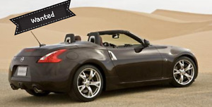 Nissan 370z Roadster 2012 - wanted
