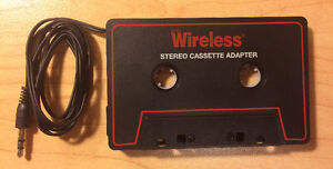 Car Cassette to iPhone adapter