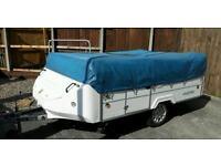 6 birth folding camper trailer tent