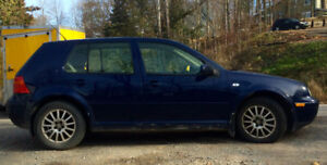 2003 Volkswagen GLS Hatchback NO RUST ( just dirt in pic)