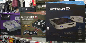 Retron 5 Play 10 Classic System In HD Mixed Styles  905-984-4442