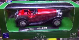Two 1/43 Diecast Model Cars (1932 & 1936)