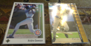 Andre Dawson Chicago Cubs Cards