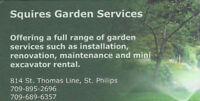 Looking for custom garden work? We can help...