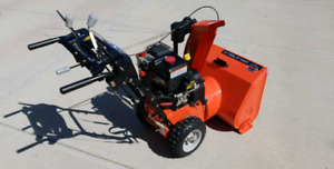 Price reduced...Snowblower - Like New Condition