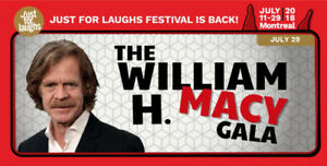 WILLIAM H. MACY GALA/FLOORS/BELOW COST/SAVE $51.50