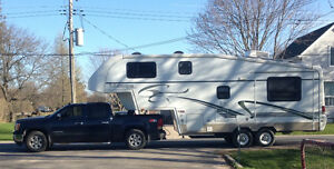 Titanium 24 EX fifth wheel trailer