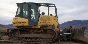 D95 BULLDOZER: 6-way blade, rippers, enclosed cab, 4cyl cummins