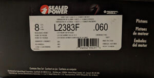 Brand new Sealed Power, Power Forged Pistons L2383F60