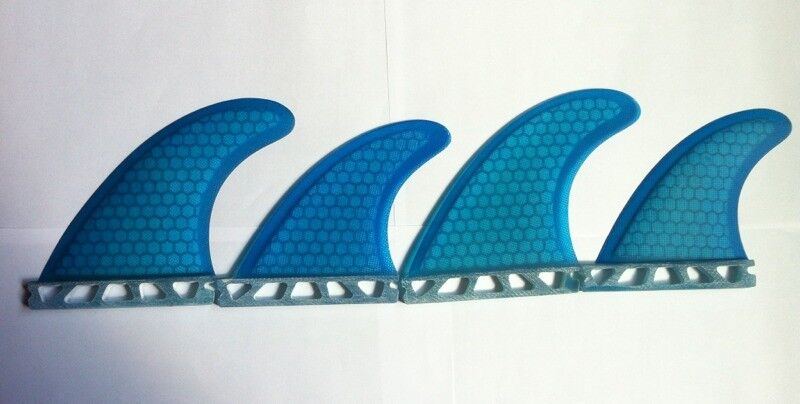 Futures Quad or Thrusters sets Surfboard surf fins