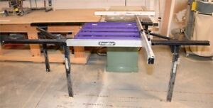 Excalibur sliding Table for a table saw