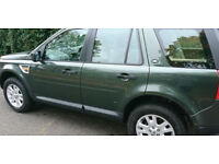 tow hitch 2008 Land Rover Freelander 2 2.2 TD4 XS