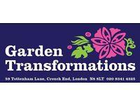 Garden Maintenance Team Leader - North London Salary £20-£22K DOE