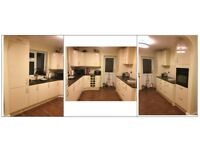 Brand new fitted kitchen door & drawer frontages, plus curved doors & plinths.