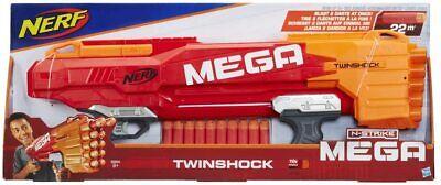 Nerf N-Strike Mega TwinShock **FREE POST** **NEW AND SEALED IN PACKAGING**