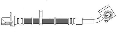 Brake Hydraulic Hose-4WD Front Left Centric 150.67124