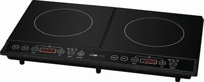 Inducción de Lujo Encimera Camping Placa de Cocina Eléctrica Doble 53945389